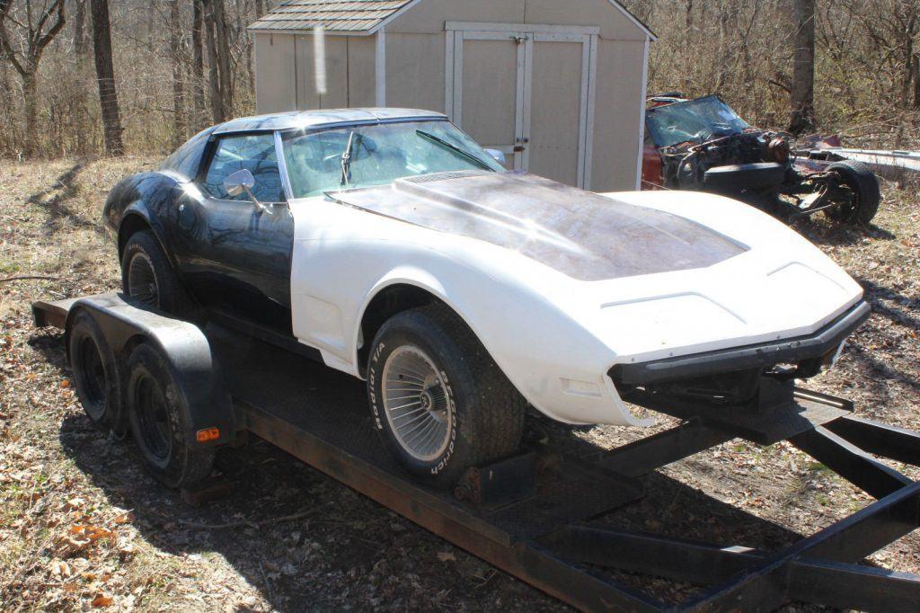 low miles 1974 Chevrolet Corvette LS4 Project