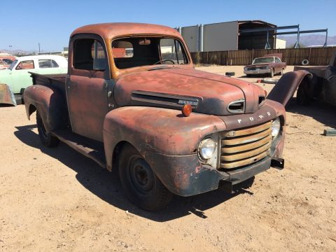 needs front fender 1949 Ford Pickups project for sale