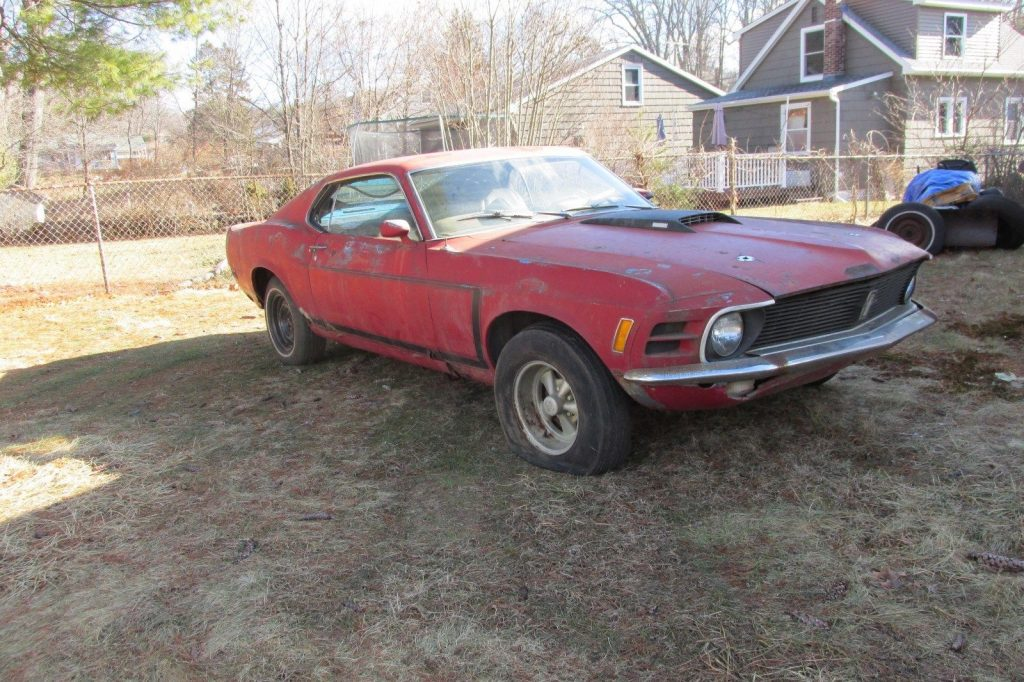 needs ful restoration 1970 Ford Mustang project
