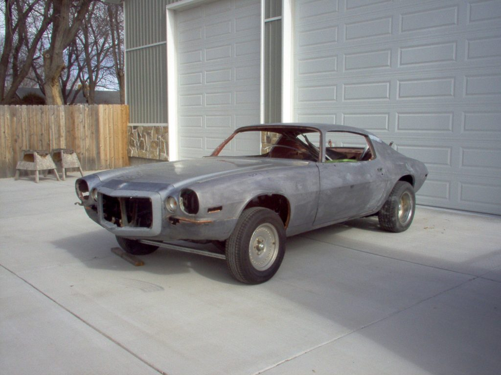 not an original drivetrain 1972 Chevrolet Camaro Z28 RS project