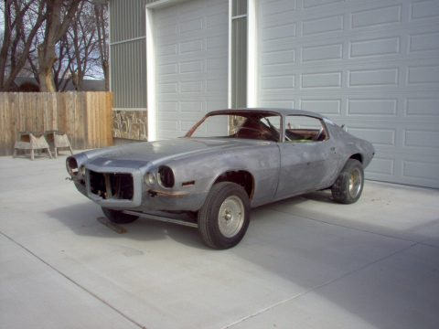 not an original drivetrain 1972 Chevrolet Camaro Z28 RS project for sale