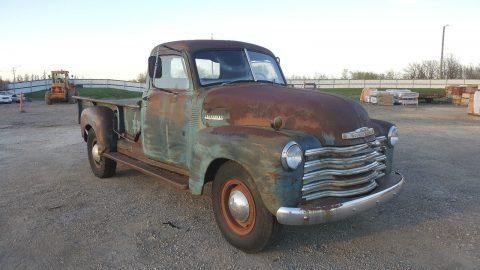 original unrestored 1949 Chevrolet Pickups project for sale