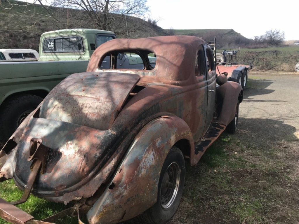 rat rod 1936 Ford project