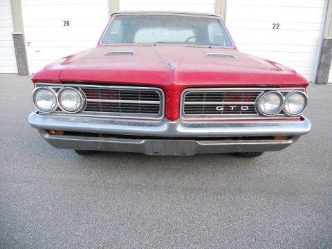 solid 1964 Pontiac GTO convertible project for sale