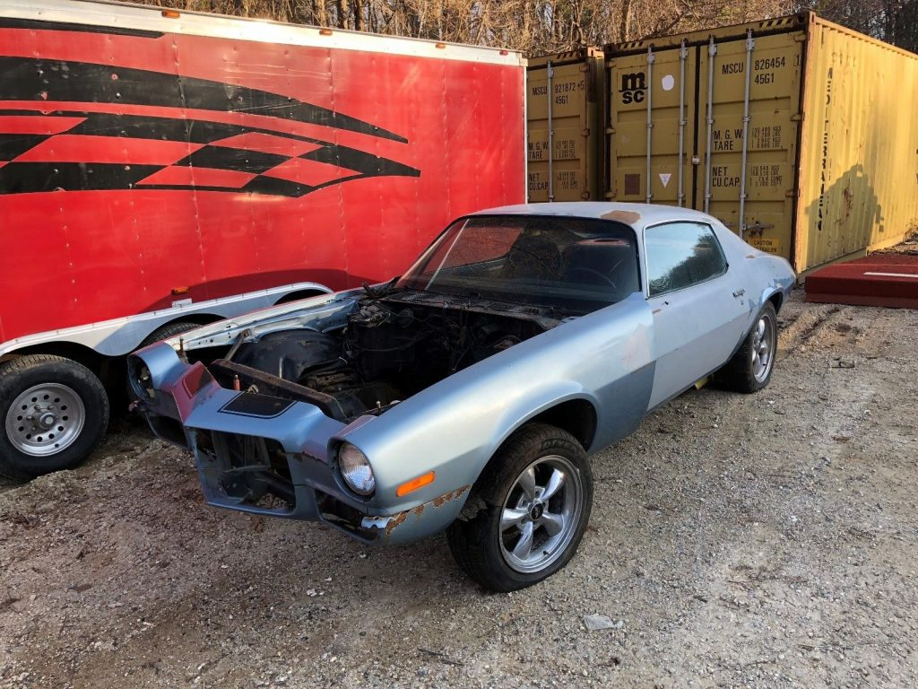 uncomplete 1970 Chevrolet Camaro SS project