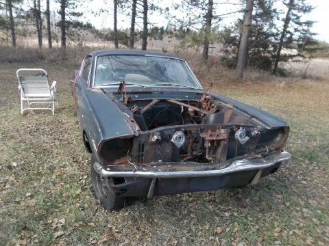 very rusty 1966 Ford Mustang project for sale
