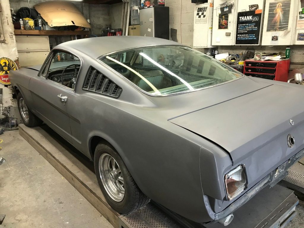 barn find 1965 Ford Mustang project