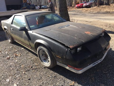 barn find 1984 Chevrolet Camaro z28 project for sale