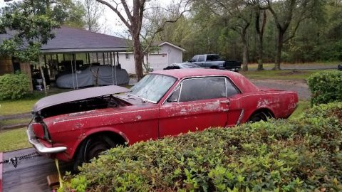 L6 engine 1964 Ford Mustang project for sale