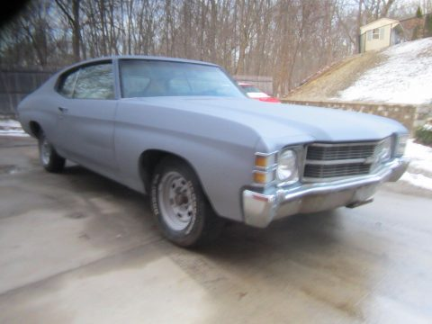 needs finishing 1971 Chevrolet Chevelle project for sale