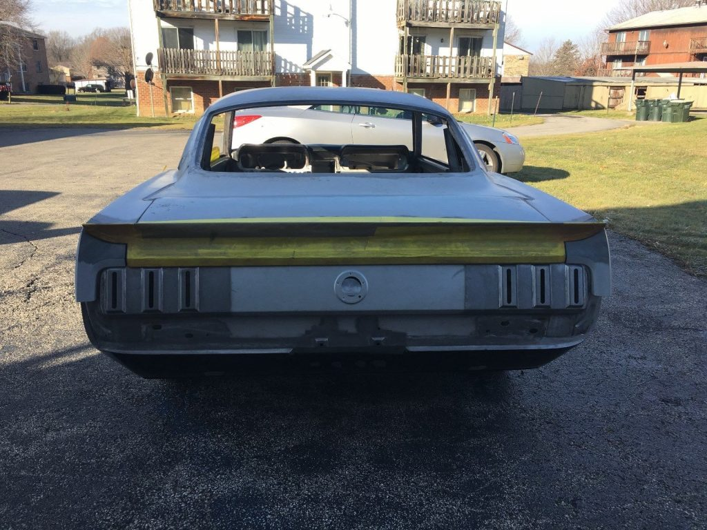 new body 1966 Ford Mustang project