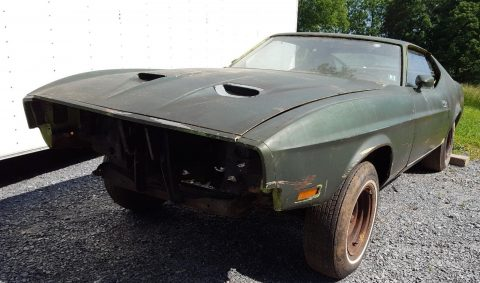 rare 1971 Ford Mustang Mach1 project for sale