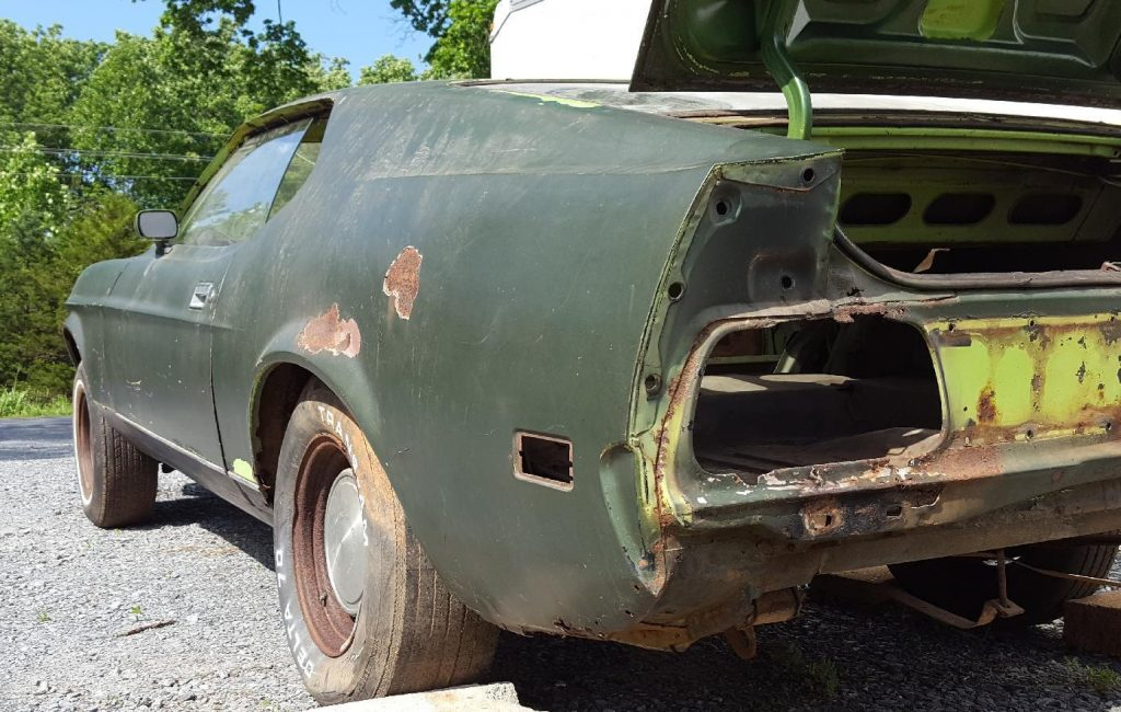 rare 1971 Ford Mustang Mach1 project