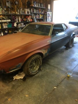 rebuilt engine 1971 Ford Mustang Mach 1 project for sale
