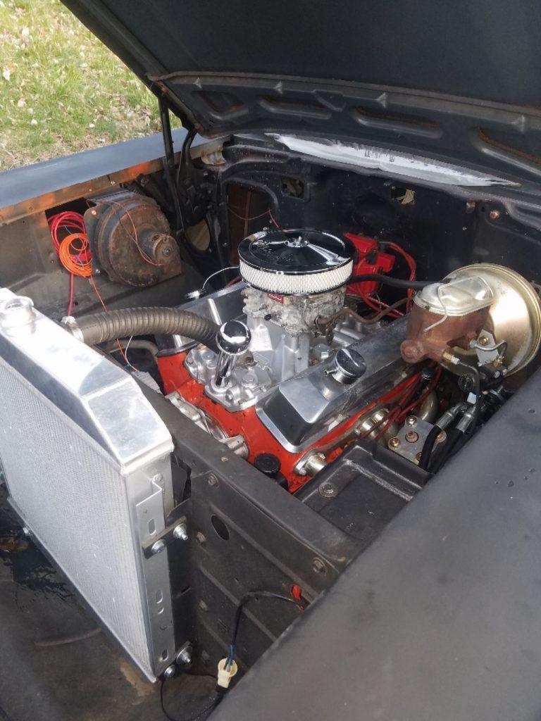 street gasser 1957 Chevrolet 150 Sedan delivery project