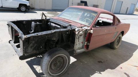 very solid 1965 Ford Mustang Fastback 289 project for sale