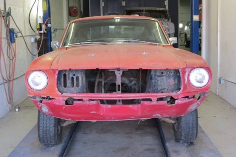 very solid 1968 Ford Mustang fastback project for sale