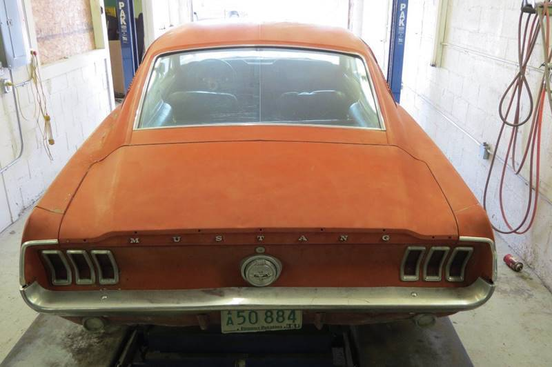 very solid 1968 Ford Mustang fastback project