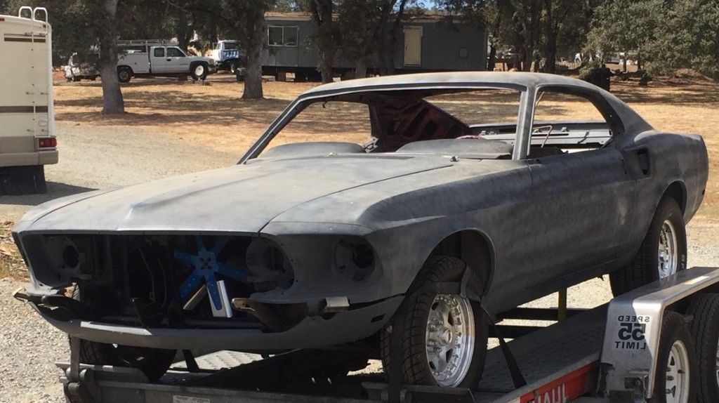 very straight 1969 ford mustang project for sale. Black Bedroom Furniture Sets. Home Design Ideas