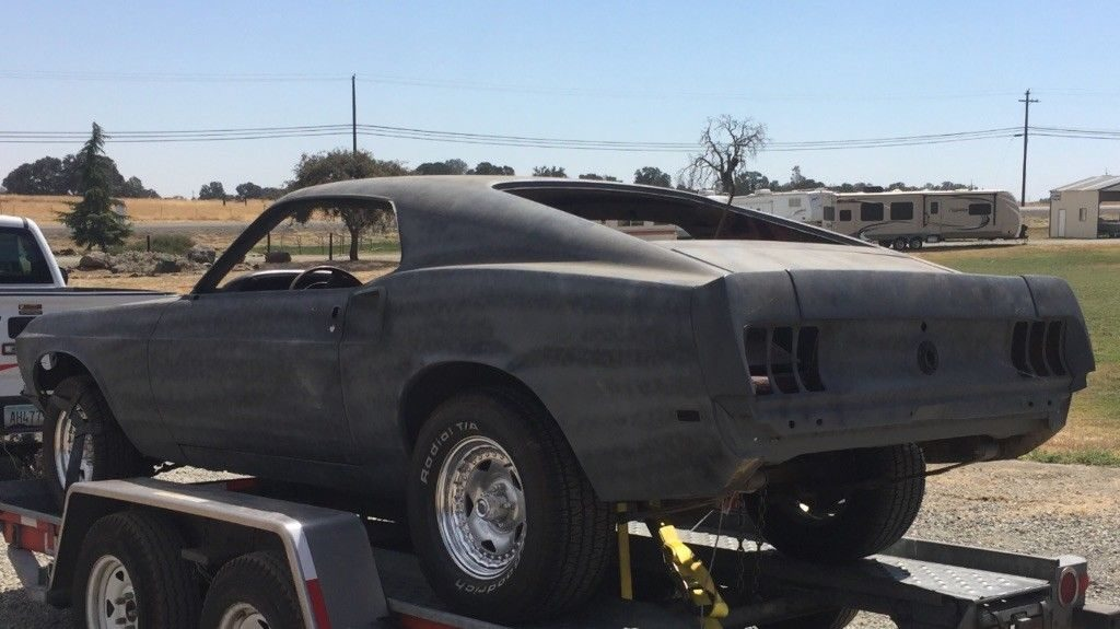 very straight 1969 Ford Mustang project
