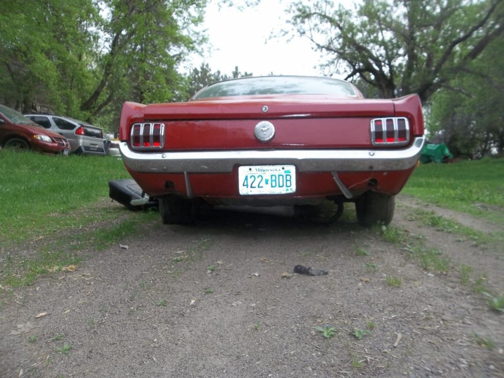 barn find 1965 Ford Mustang fastback