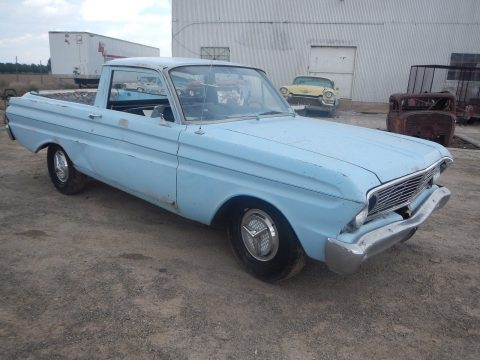 barn find 1965 Ford Ranchero project for sale