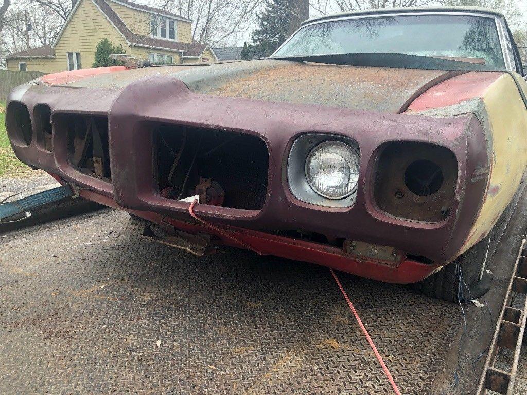 complete 1969 Pontiac Le Mans convertible project