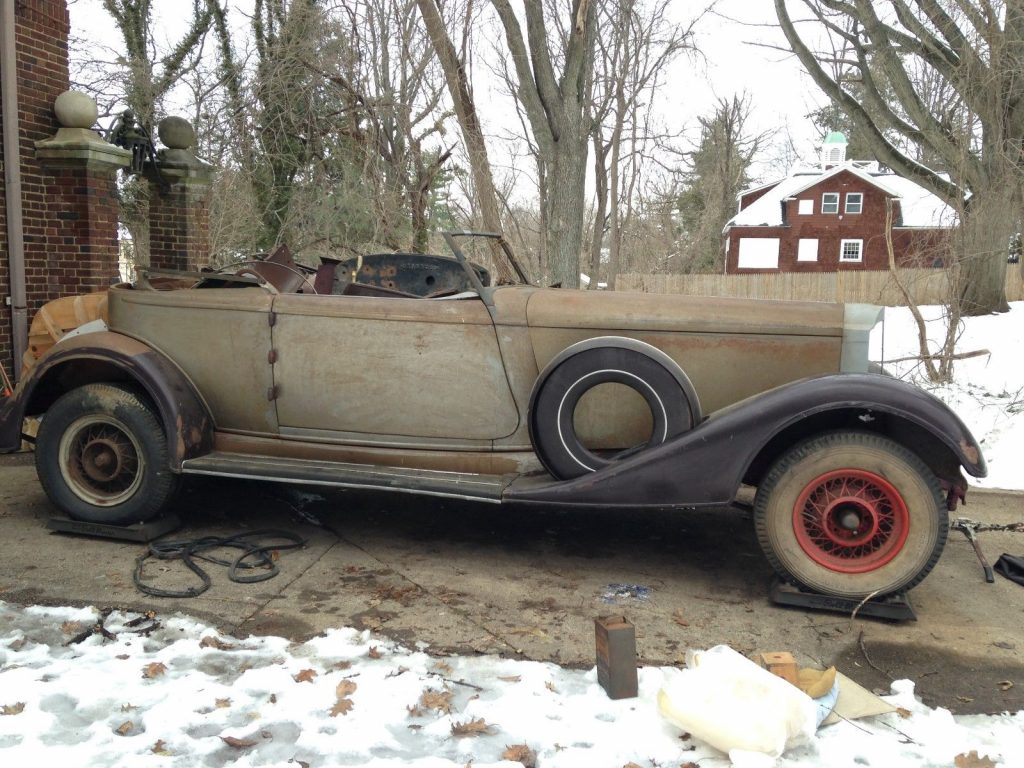 custom bodied 1934 Packard Model 1108 Dietrich Victoria project