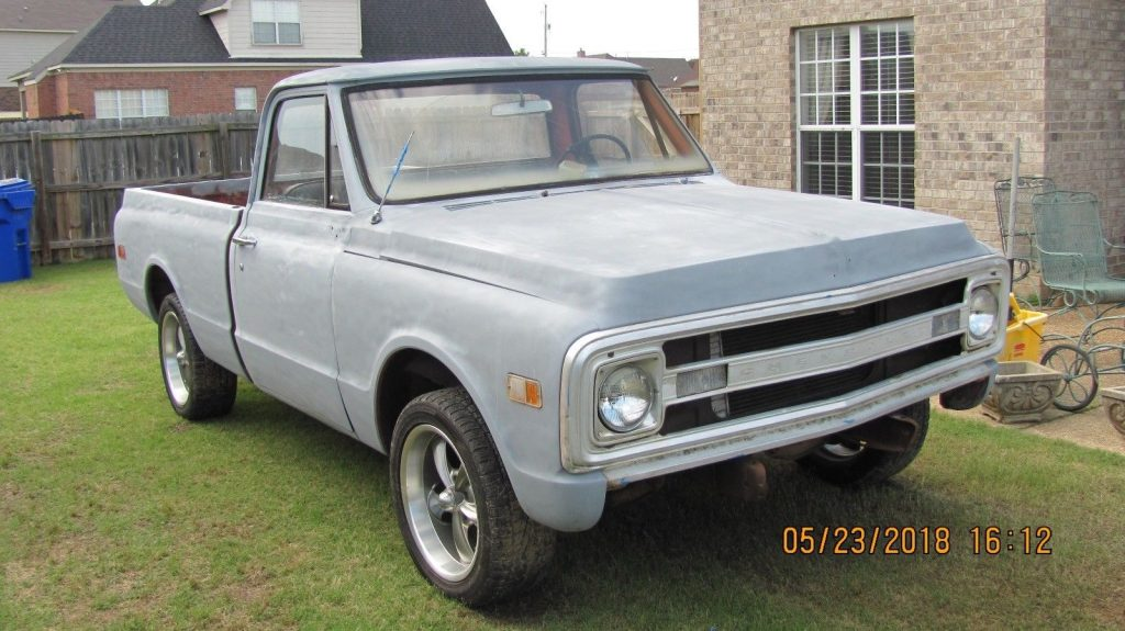 custom wheels 1969 Chevrolet C 10 custom truck project