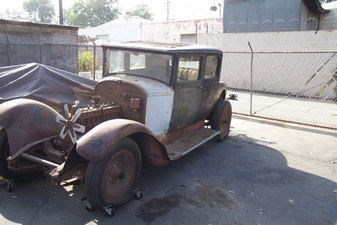 extra chassis 1929 Packard 633 Victoria Coupe Standard 8 project for sale