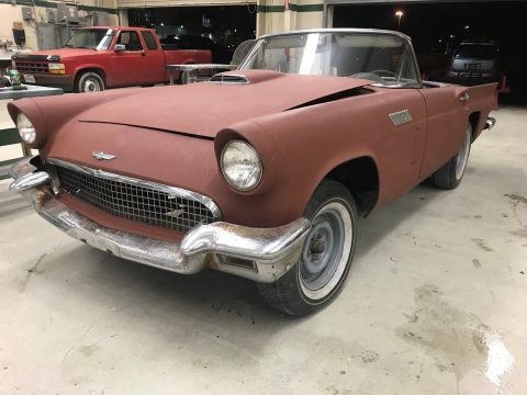 extra parts 1957 Ford Thunderbird project for sale