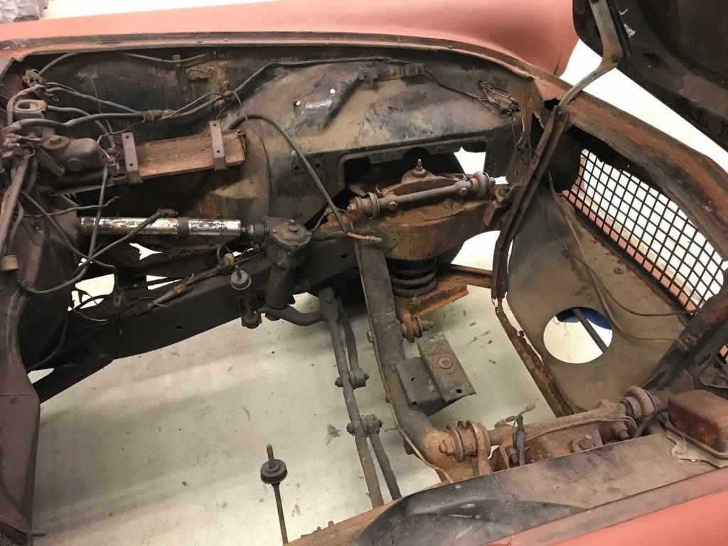 extra parts 1957 Ford Thunderbird project