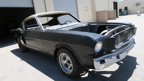 extra parts 1965 Ford Mustang Fastback C CODE Project for sale