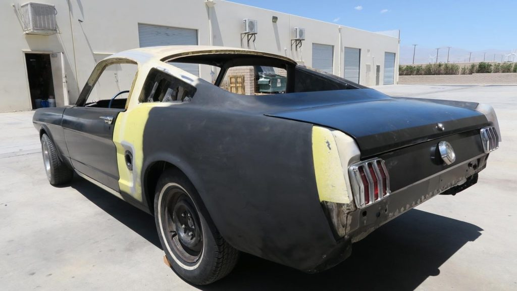 extra parts 1965 Ford Mustang Fastback C CODE Project