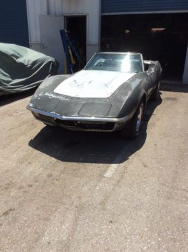 few things missing 1972 Chevrolet Corvette LT1 Convertible project for sale