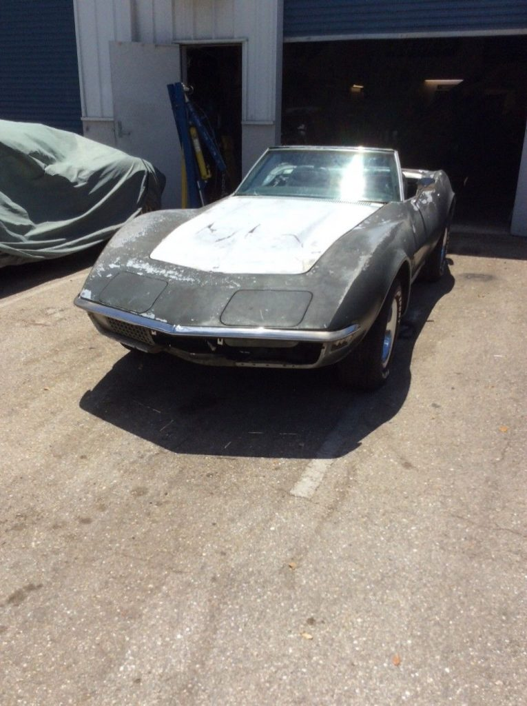few things missing 1972 Chevrolet Corvette LT1 Convertible project