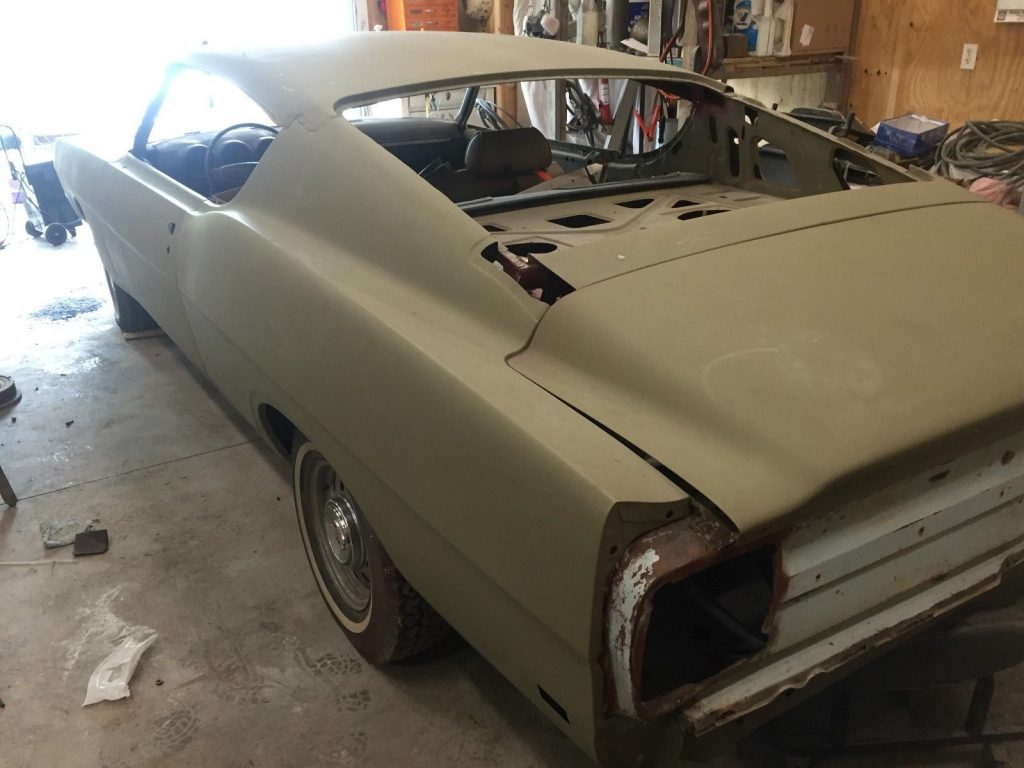 many NOS parts 1969 Ford Torino TALLADEGA proiject
