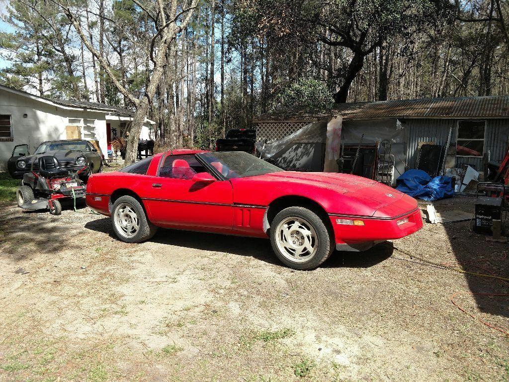missing engine 1990 Chevrolet Corvette project