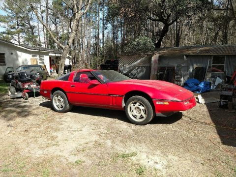 missing engine 1990 Chevrolet Corvette project for sale