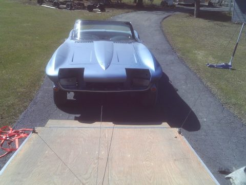 no engine 1964 Chevrolet Corvette project for sale