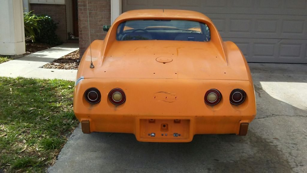 original paint 1977 Chevrolet Corvette project