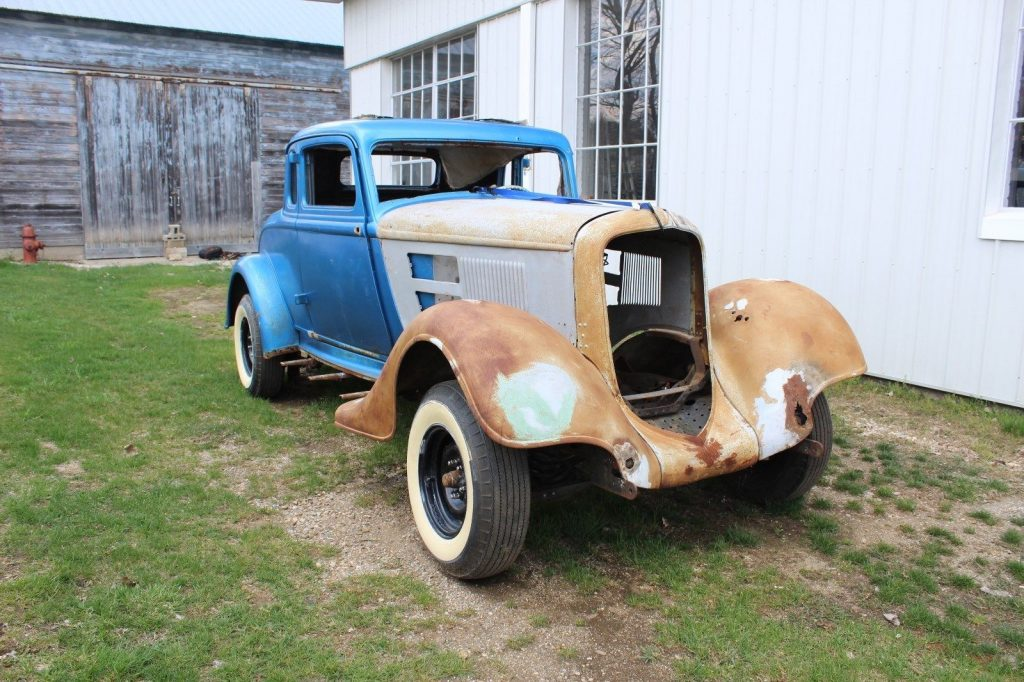 rare 1934 Plymouth Coupe project