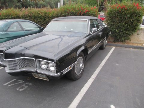 seized engine 1970 Ford Thunderbird project for sale
