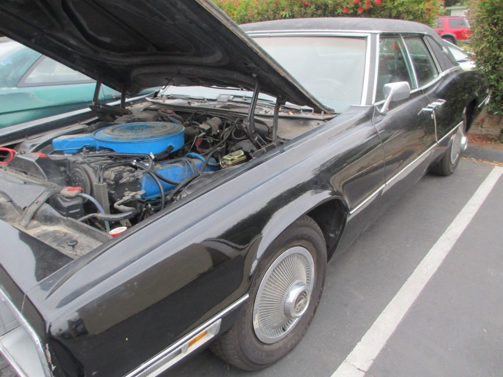 seized engine 1970 Ford Thunderbird project