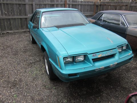 shell only 1986 Ford Mustang GT project for sale