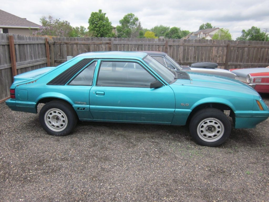 shell only 1986 Ford Mustang GT project