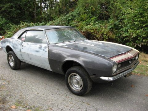 standard 1968 Chevrolet Camaro project for sale