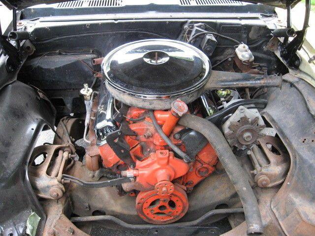 standard 1968 Chevrolet Camaro project