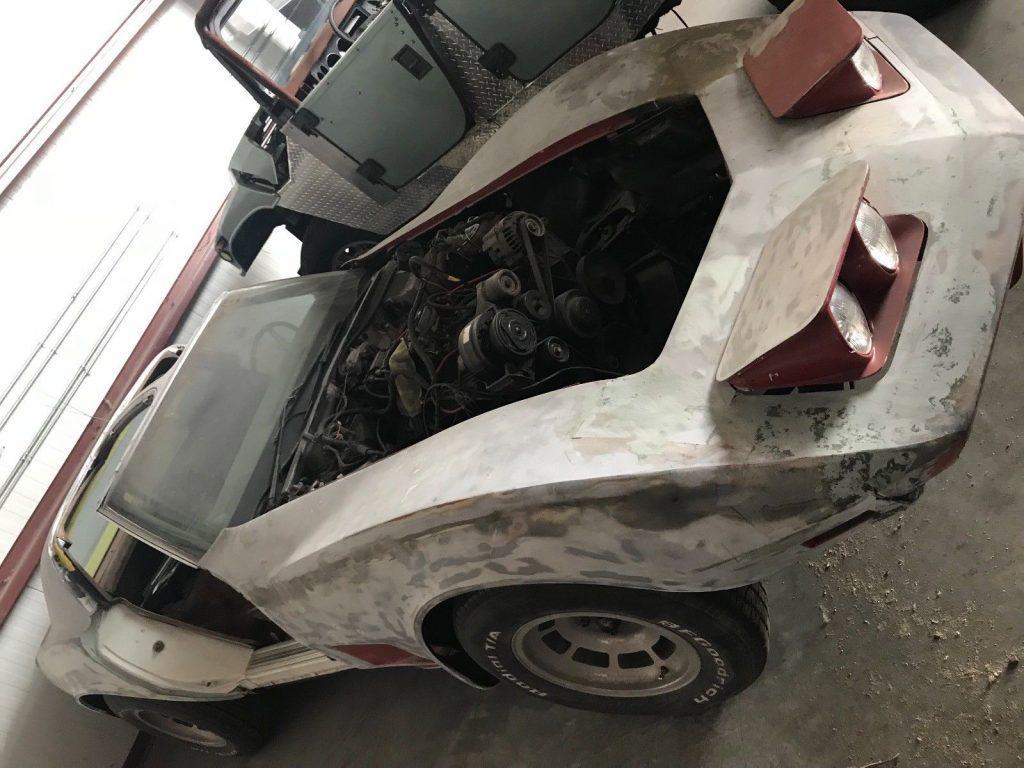 complete parts 1973 Chevrolet Corvette project