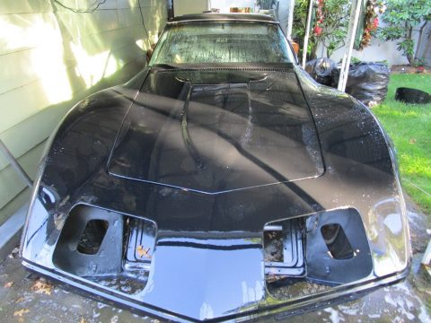 easy project 1972 Chevrolet Corvette project for sale